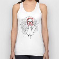 queen Tank Tops featuring Queen by Mr. Gabriel Marques