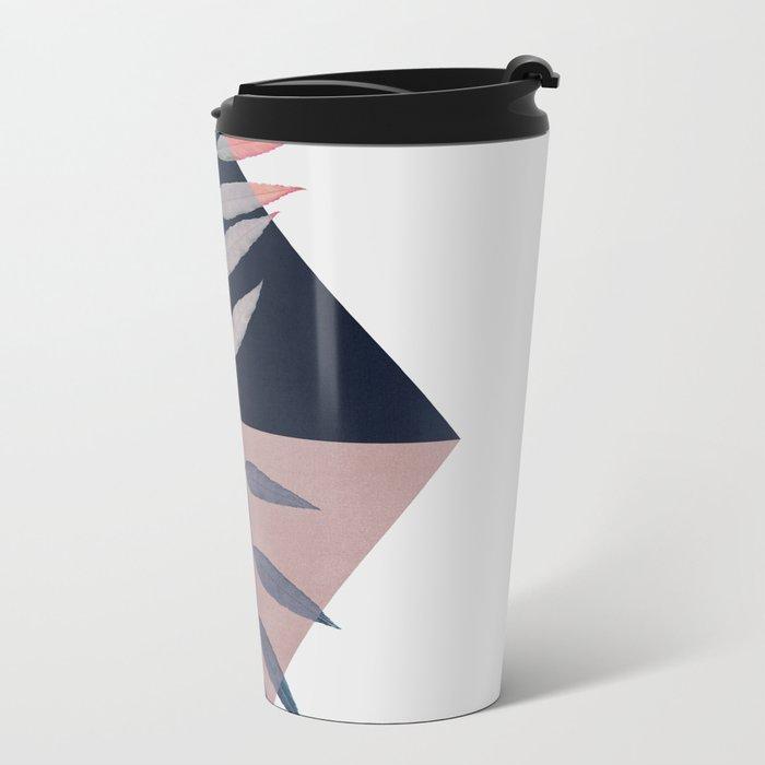 Geometry and Nature 3 Metal Travel Mug