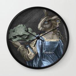 HEAD ON A PLATTER Wall Clock