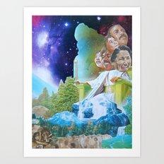 Prophecy of Intergalactic Understanding Art Print