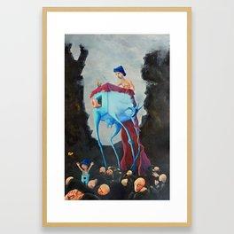 Koza Framed Art Print