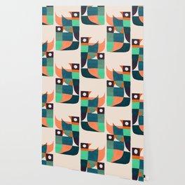 Two birds dancing Wallpaper