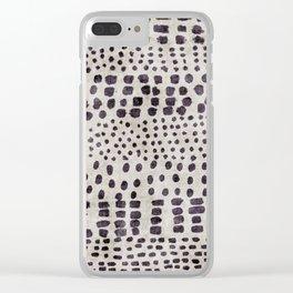 linen Liza Clear iPhone Case