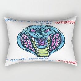 Venomous Rectangular Pillow
