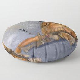 I Dream of Butterflies Floor Pillow