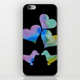 Art Dachshunds iPhone Skin
