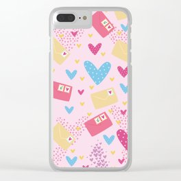 Letter to My Love Clear iPhone Case
