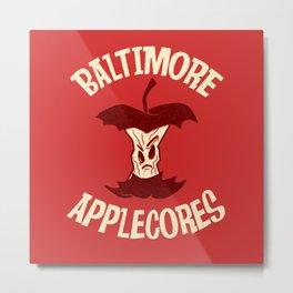 Applecores Metal Print