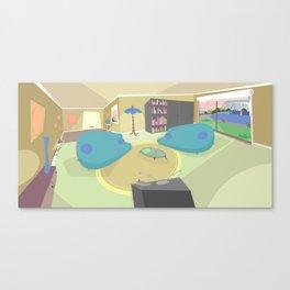 The livingroom Canvas Print