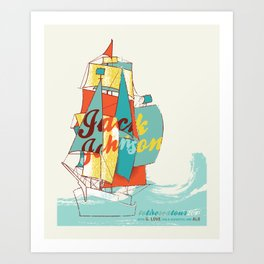 jack johnson- to the sea Art Print