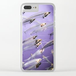 Phantom Catfish Clear iPhone Case
