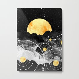 Stars of the galaxy Metal Print