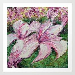 DC Magnolias Art Print
