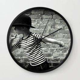Juvenile Jazz 5 Wall Clock
