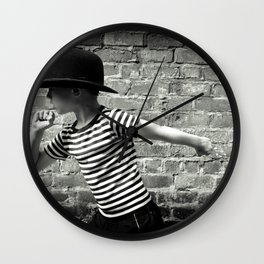Juvenile Jazz 5 Wall Clock