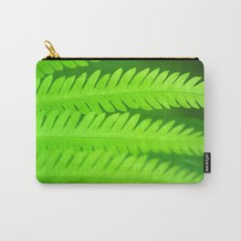 a green Fern Carry-All Pouch