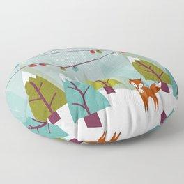 Winter  Floor Pillow