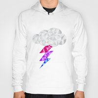 bisexual Hoodies featuring Bisexual Storm Cloud by Casira Copes