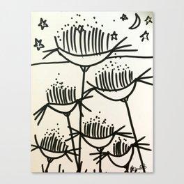 Moonlit Delight Canvas Print