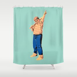 Baby Ruthy Shower Curtain