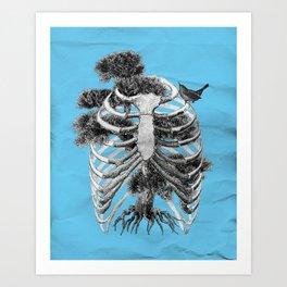 A Breath of Fresh Air Art Print
