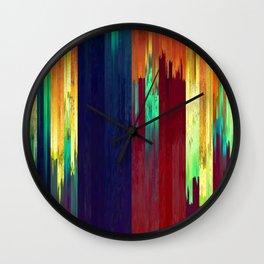 Pixel Sorting 73 Wall Clock