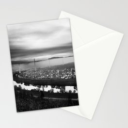 Village On A River Stationery Cards