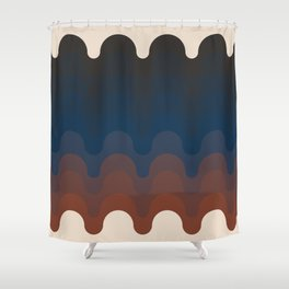 Julio - Dusk Shower Curtain