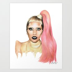 Government Hooker. Art Print