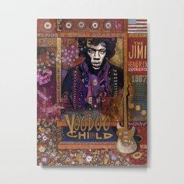 Voodoo Child Metal Print