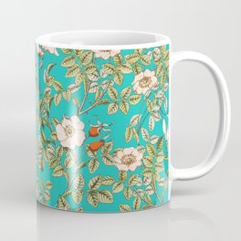 Teal Botanical #society6 #decor #buyart Coffee Mug