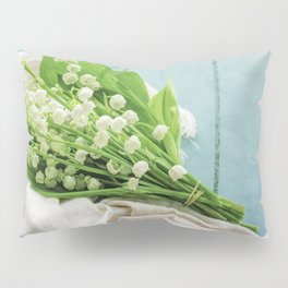 a bunch of lily of the valley Pillow Sham