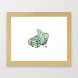 Zongzi Framed Art Print