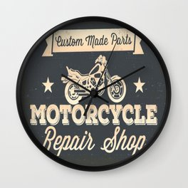 MotoBiKe RiDe 4 Wall Clock