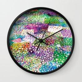 Rainbow Terra Firma Wall Clock