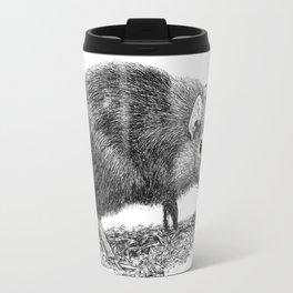Black Shrew Travel Mug