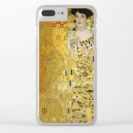 Gustav Klimt - Portrait of Adèle Bloch Bauer Clear iPhone Case