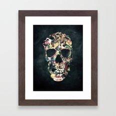 Vintage Skull Framed Art Print