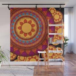 Ethnic Indian Mandala Wall Mural