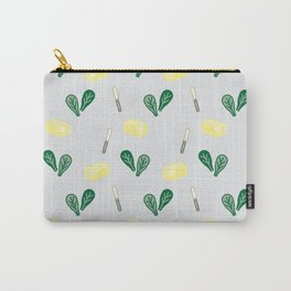 Butter & Spinach Carry-All Pouch