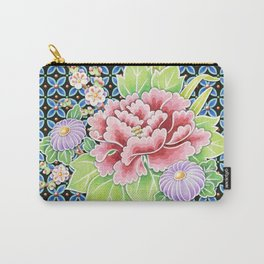 Brocade Bouquet Carry-All Pouch