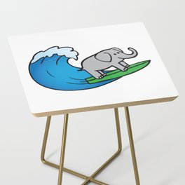 Of Trunks and Tides Side Table