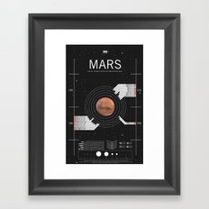 OMG SPACE: Mars 1960 - 1980 Framed Art Print