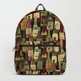 Wine Bottles Backpack