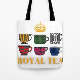 Royal-Tea: Six Musical Teacups Tote Bag