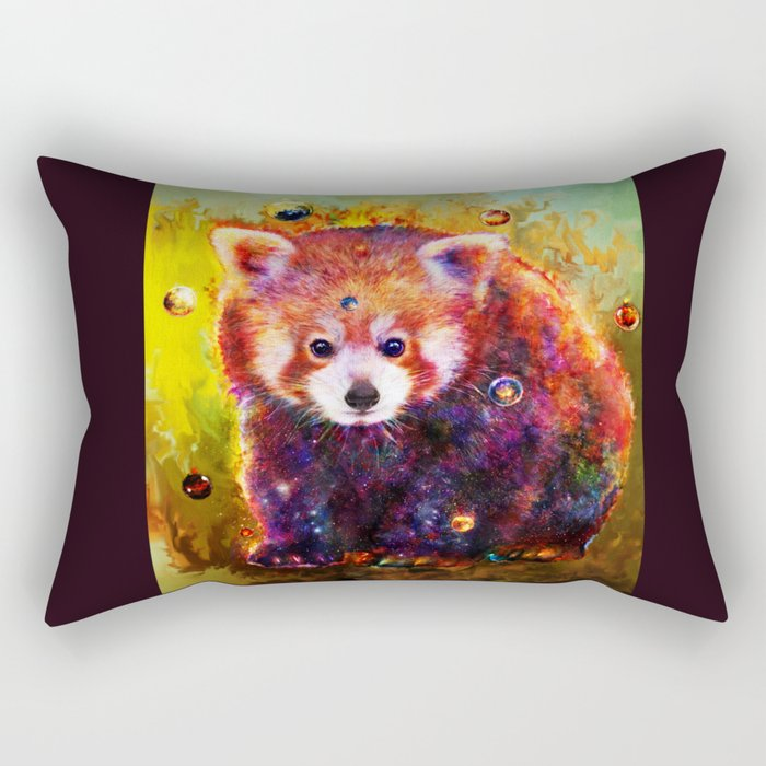 red panda Rectangular Pillow