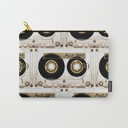 Retro classic vintage transparent mix cassette tape Carry-All Pouch