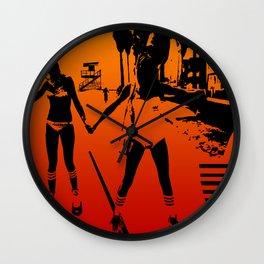 The Girls of Summer Wall Clock