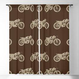 Moto #16 (Brown) Blackout Curtain