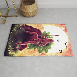 Queen of the Jungle Rug